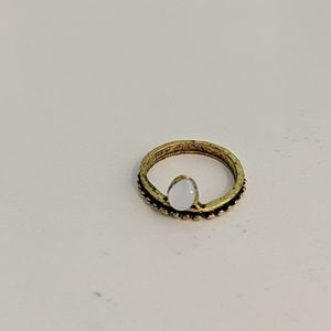 Jewelry - Gold Opal Costume Jewelry Ring NWOT